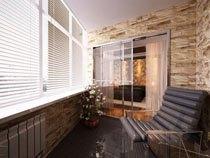 ремонт, отделка балкона в Тольятти
